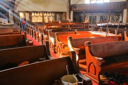 3rd Presbyterian Church Chester, Clean Up 2015_-56